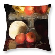 Fruit Of Renaissance Period Throw Pillow