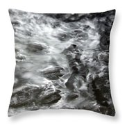 Frying Oil Throw Pillow