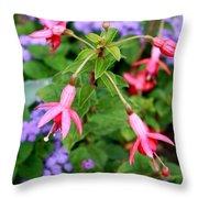 Fuchsia Standout Throw Pillow