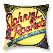 Fueling America Throw Pillow by Joan Carroll