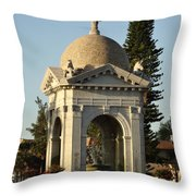 Fulford Fountain 2012 Throw Pillow