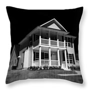 Full Moon Estate Throw Pillow
