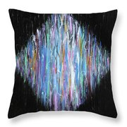 Full Spectrum Throw Pillow by Judy M Watts-Rohanna