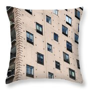 Fulton House. Chicago Throw Pillow