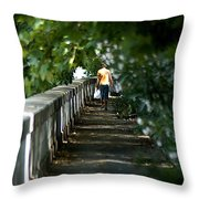 Fume Tevere Throw Pillow