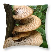 Fungus Amongus Throw Pillow