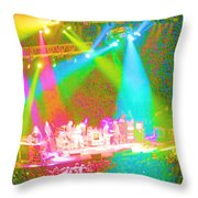 Furthur Channel Throw Pillow