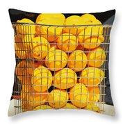 Future Lemonade Throw Pillow