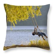 Fv3583, Natural Moments Photography Boy Throw Pillow