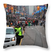 G20 Summit Toronto Throw Pillow