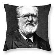 Gabriel De Mortillet Throw Pillow