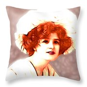 Gabrielle Ray Portrait  Throw Pillow