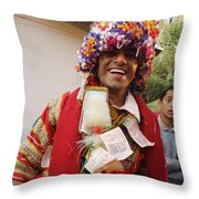 Gaddi Wedding Throw Pillow