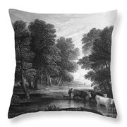 Gainsborough: Scenic View Throw Pillow