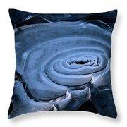 Galactic Ice Throw Pillow
