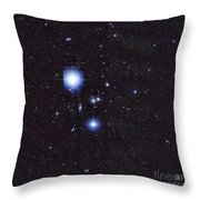 Galaxy Cluster Abell 1060, Infrared Throw Pillow