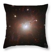 Galaxy Ngc 1275 Throw Pillow