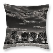 Gale House Minus Witch Throw Pillow