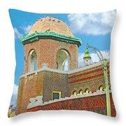 Galloway Church Memphis Throw Pillow