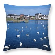 Galway, County Galway, Ireland Throw Pillow