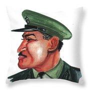 Gamal Abder Nassal Throw Pillow