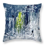 Gandhiji In Limelight Throw Pillow by Piety Dsilva