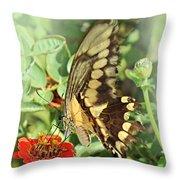 Garden Company Throw Pillow