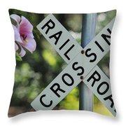 Garden Crossing Throw Pillow