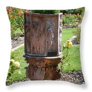 Garden Divine Throw Pillow