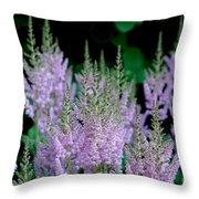 Garden Forest Throw Pillow