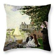 Garden House On The Zaan - Zaandam Throw Pillow