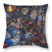 Garden Of Crafts  Throw Pillow