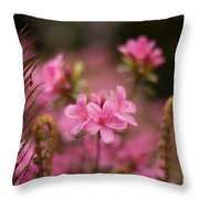 Garden Of Friends Throw Pillow