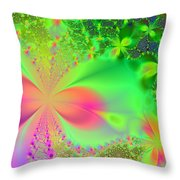 Garden Of Peace And Happiness Throw Pillow