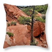 Garden Of The Gods  - The Name Says It All Throw Pillow