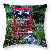 Garden Stil Llife 1 Throw Pillow