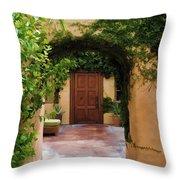 Garden Suite Throw Pillow
