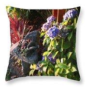 Garden Zen Art Throw Pillow