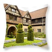 Gardens At Cecilienhof Palace Throw Pillow