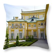 Gardens Of Wilanow Palace - Warsaw Throw Pillow