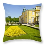 Gardens Wilanow Palace  Throw Pillow