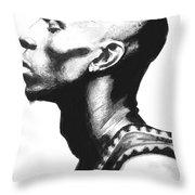Garnet Throw Pillow by Tamir Barkan