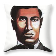 Garrett Morgan Throw Pillow