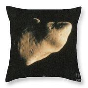 Gaspra, S-type Asteroid, 1991 Throw Pillow
