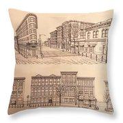 Gastown Vancouver Canada Prints Throw Pillow