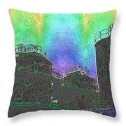 Gasworks Park 4 Throw Pillow