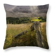 Gate To Heaven Throw Pillow
