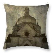 Gates Of Confessions Throw Pillow