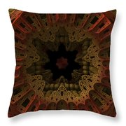 Gateway To The Unknown Throw Pillow
