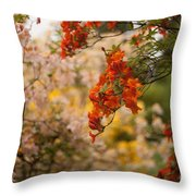 Gathering Of Radiance Throw Pillow